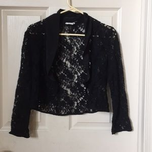 Urban Outfitters   Pins and Needles Lace Blazer